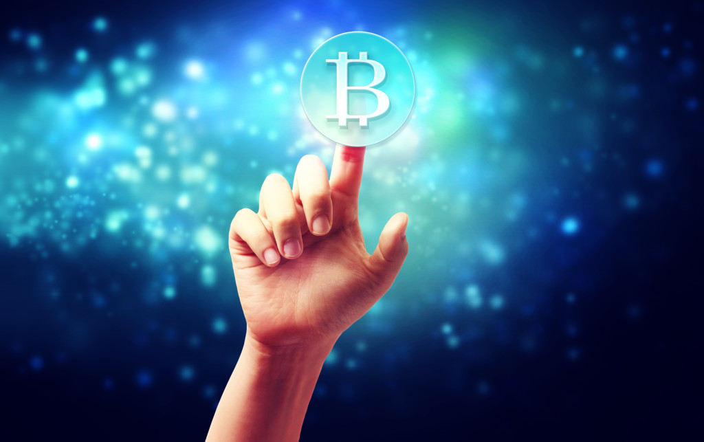Klicka på bitcoin