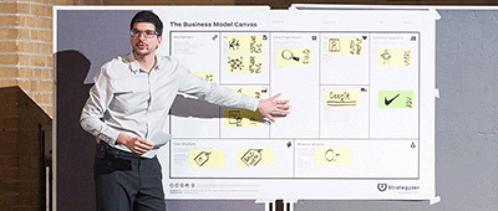 Byt ut affärsplanen mot en Business Canvas