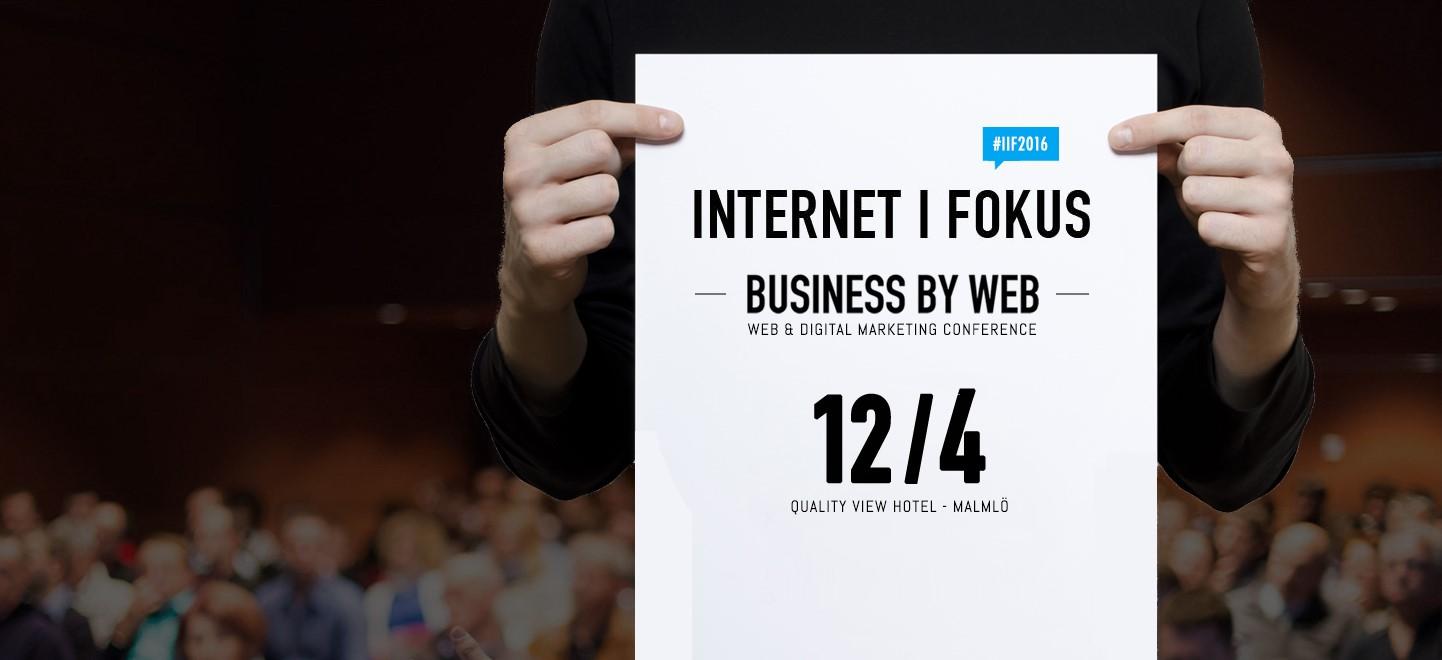 Inbjudan till Internet i Fokus våren 2016