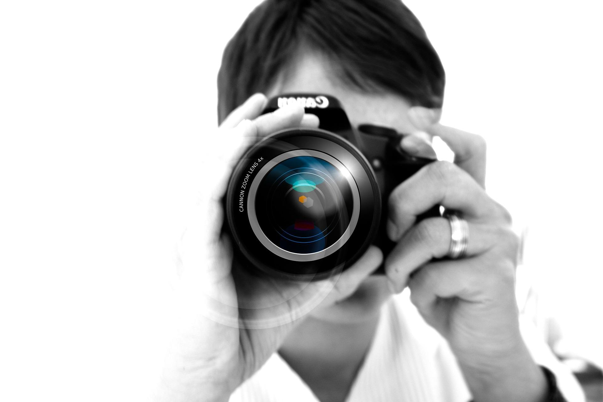 Knäppa kort eller Skapa bilder