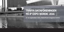 Träffa Dataföreningen på IP EXPO Nordic