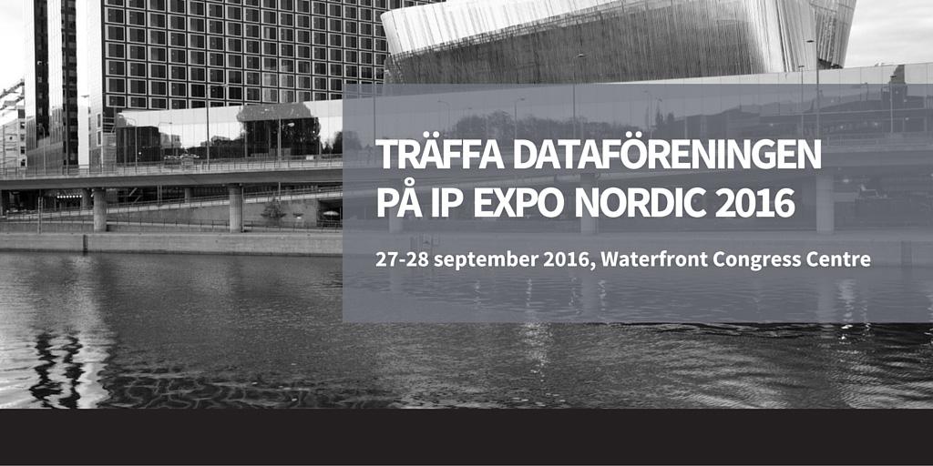 Dataforeningen IP EXPO Nordic 2016