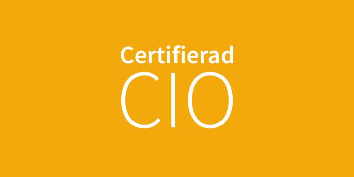 Certifierad CIO