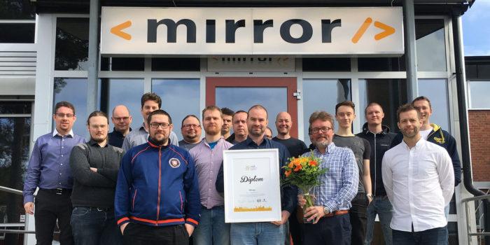 Mirror är årets it-organisation i Norrbotten