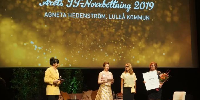 Årets IT-norrbottning och Årets IT-organisation 2019