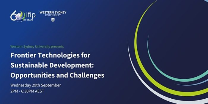 Frontier Technologies for Sustainable Development: Opportunities and Challenges