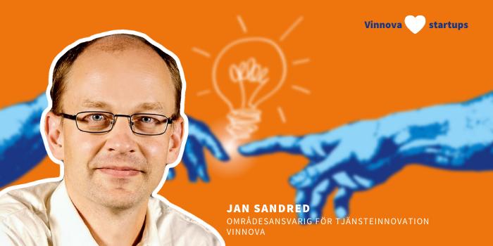 Jan Sandred, Vinnova