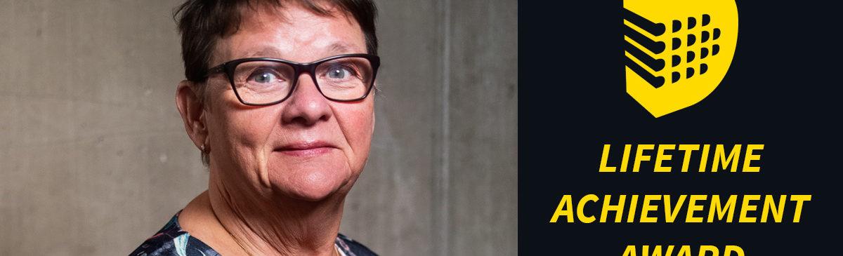 Anne-Marie Eklund Löwinder tilldelas Lifetime Achievement Award
